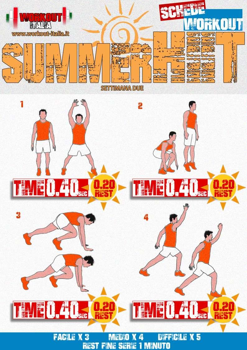 scheda summer hiit 2