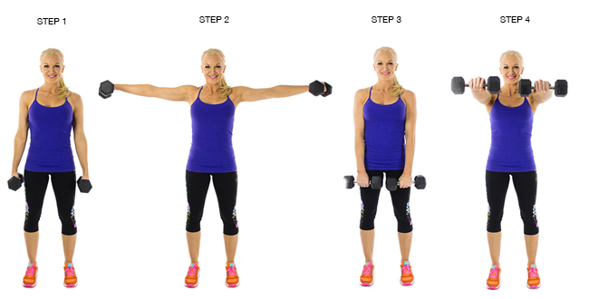 perdere peso braccia