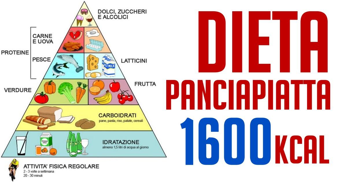 dieta per pancia piatta e glutei grandi