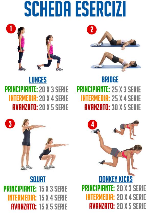 allenamento per dimagrire donna