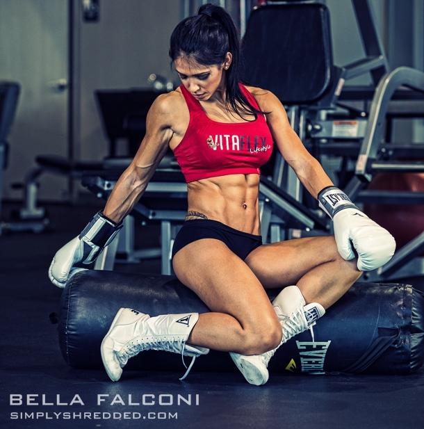 Fitness model Bella Falconi