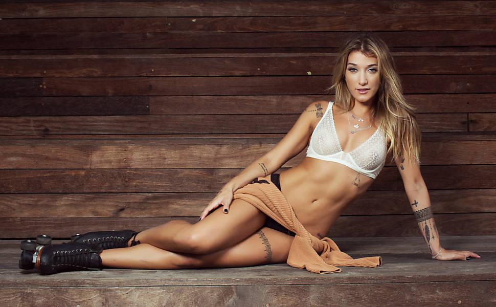 Fitness model Gabirela Puglisi