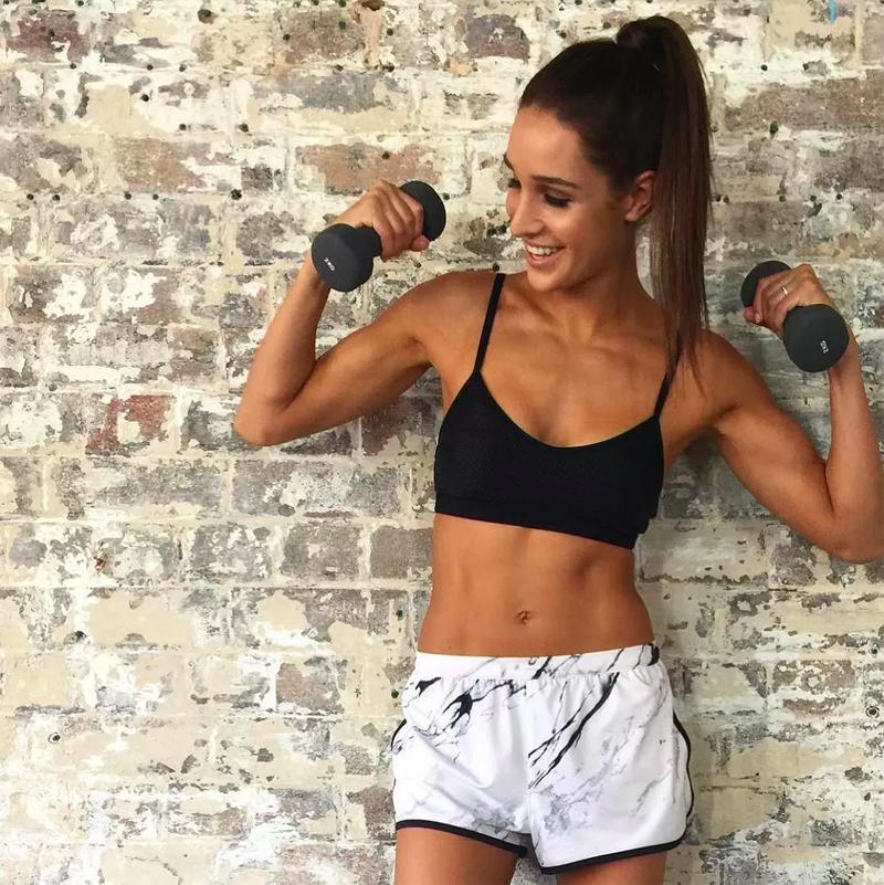 Fitness model: Kyla Itsines
