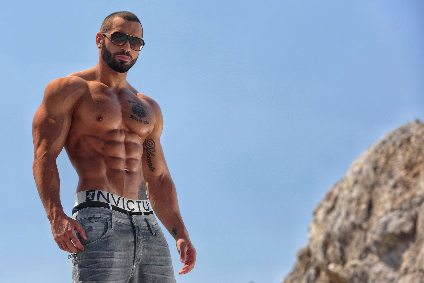 Fitness model: Lazar Angelov