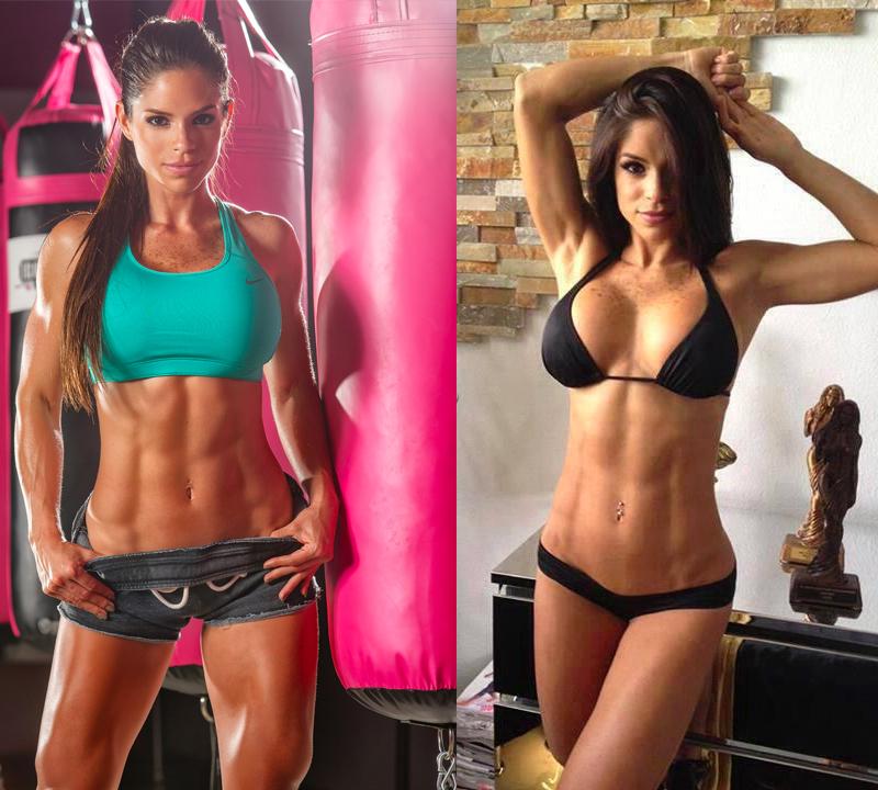 Fitness model Michelle Lewin