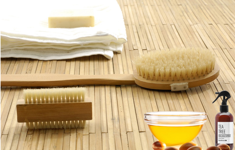 necessario per dry brushing