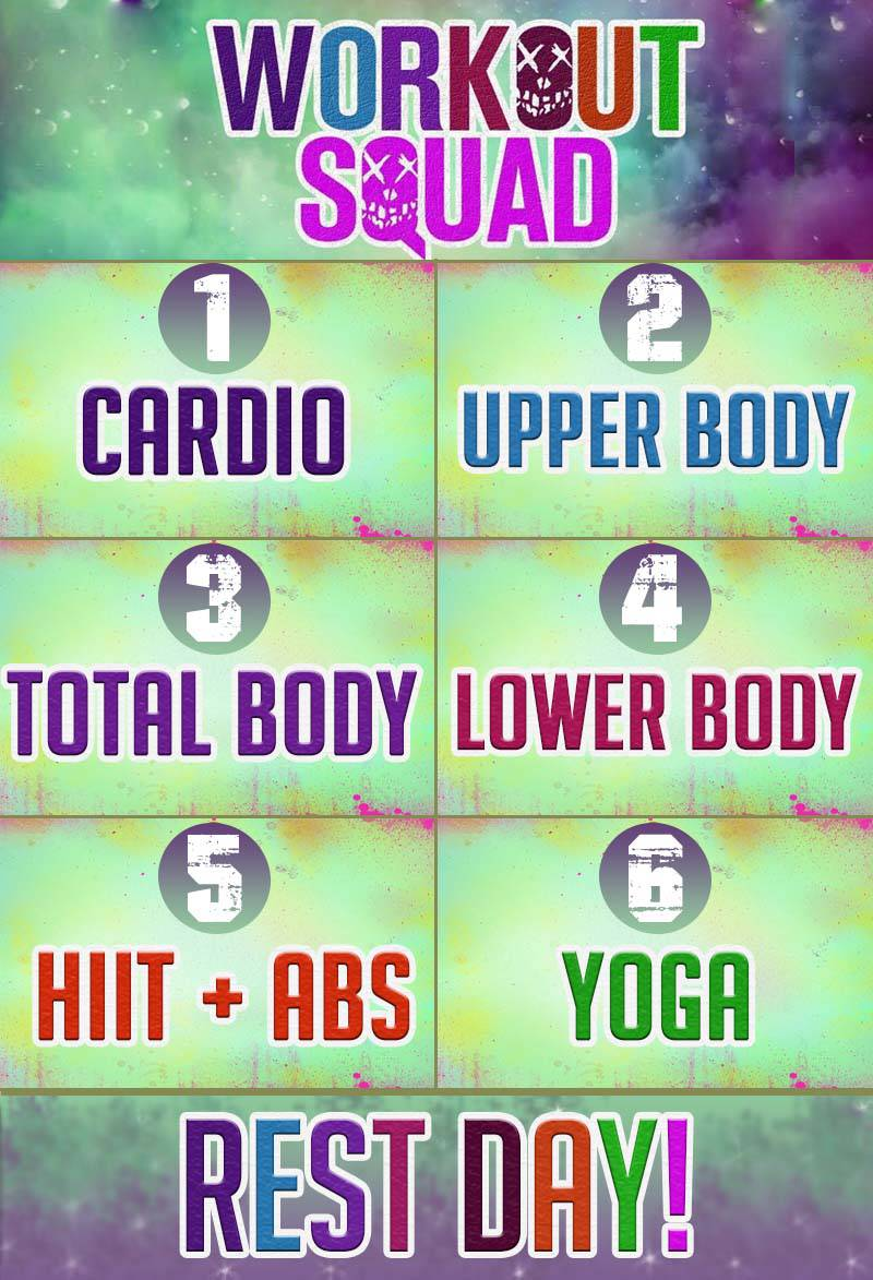 Workout Squad Calendario