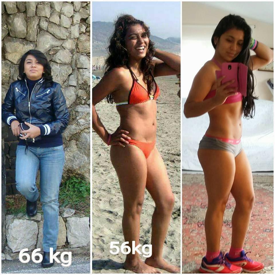 Daniela Trapani prima e dopo