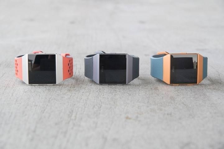 Fitbit-Ionic-tre modelli