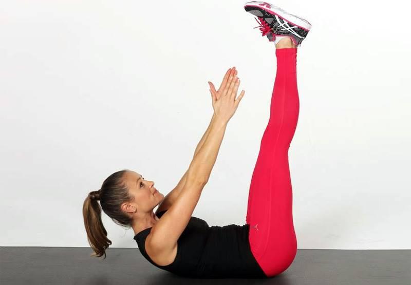 Crunch gambe tese